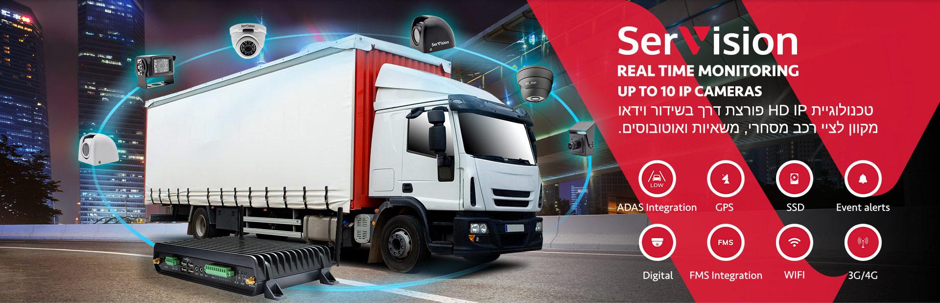 טכנולוגיית HD IP פורצת דרך לשידור וידאו חי מציי רכב